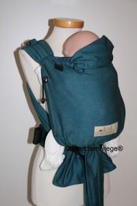 Storchenwiege-Babycarrier-Turquoise