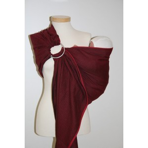 storchenwiege-ring-sling-leo-bordeaux